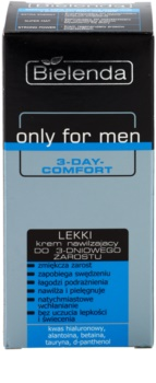 Bielenda Only for Men 3-Day Comfort Light Moisturizing Cream with Soothing Effect