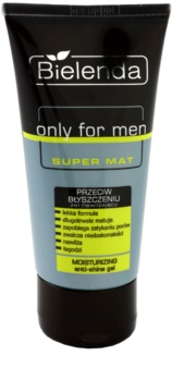 Bielenda Only for Men Super Mat ενυδατικό τζελ κατά της γυαλάδας της επιδερμίδας με διερυμένους πόρους