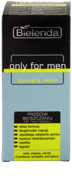 Bielenda Only for Men Super Mat Moisturizing Gel To shine and expanded pores
