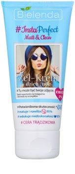 Bielenda #Insta Perfect Matt & Clear Gel-Creme für Tag und Nacht für unreine Haut