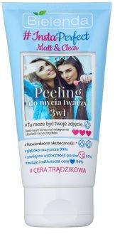 Bielenda #Insta Perfect Matt & Clear pleťový peeling 3 v 1 pro problematickou pleť