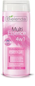 Bielenda Multi Essence 4 in 1 esență cu multivitamine ten uscat
