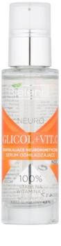 Bielenda Neuro Glicol + Vit. C нічна омолоджуюча сироватка з ефектом пілінгу
