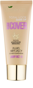 Bielenda Total Look Make-up Nude Cover prekrivni fluidni tekoči puder