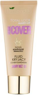 Bielenda Total Look Make-up Nude Cover рідка тональна основа