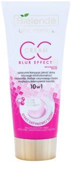 Bielenda Optic Control Blur Effect CC Creme für den Körper für hydratisierte und strahlende Haut