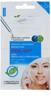 Bielenda Professional Formula maschera in gel peel-off effetto idratante