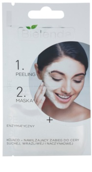 Bielenda Professional Formula пілінг та маска для чутливої шкіри та шкіри схильної до почервонінь
