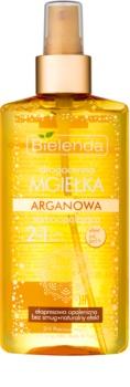 Bielenda Precious Oil  Argan espuma bronzeadora para rosto e corpo