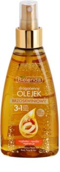 Bielenda Precious Oil  Peach óleo nutritivo para rosto, corpo e cabelo