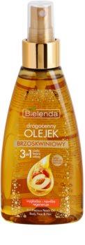 Bielenda Precious Oil  Peach Pflegeöl für Gesicht, Körper und Haare