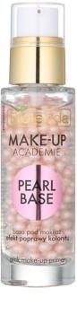 Bielenda Make-Up Academie Pearl Base base de teint à la rose pour une apparence saine