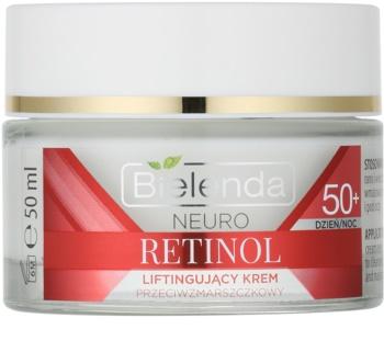 Bielenda Neuro Retinol crema cu efect de lifting 50+