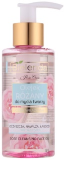 Bielenda Rose Care huile nettoyante à la rose peaux sensibles