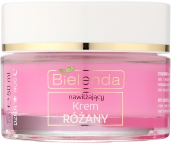 Bielenda Rose Care feuchtigkeitsspendende Creme mit Rosen für empfindliche Haut