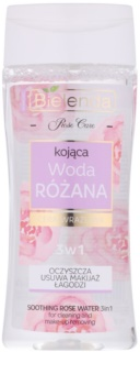 Bielenda Rose Care acqua di rose detergente lenitiva 3 in 1