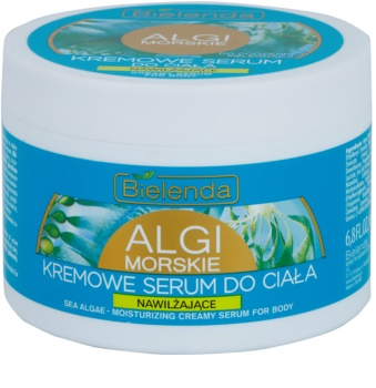Bielenda Sea Algae Moisturizing krémové sérum na tělo pro vypnutí pokožky