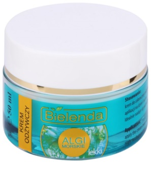 Bielenda Sea Algae Nourishing crema-gel nutriente leggera
