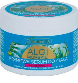 Bielenda Sea Algae Regeneration Creme-Serum für den Körper mit festigender Wirkung