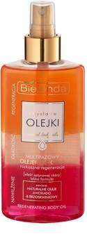 Bielenda Sensual Body Oils multifázový tělový olej s regeneračním účinkem