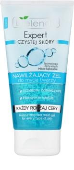 Bielenda Expert Pure Skin Moisturizing gel de limpeza facial com efeito hidratante