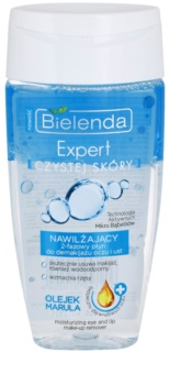 Bielenda Expert Pure Skin Moisturizing dvofazno sredstvo za skidanje šminke za područje oko očiju i usana