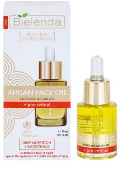 Bielenda Skin Clinic Professional Pro Retinol vyživující pleťový olej pro vyhlazení kontur