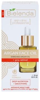 Bielenda Skin Clinic Professional Pro Retinol huile nourrissante visage lissage du contour