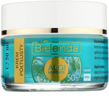Bielenda Sea Algae Semi-Rich creme antirrugas nutritivo 50+