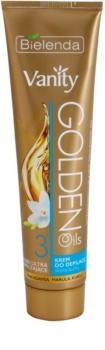 Bielenda Vanity Golden Oils Enthaarungscreme für trockene Haut