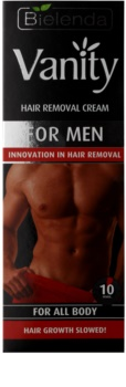 Bielenda Vanity For Men krema za depilaciju za muškarce