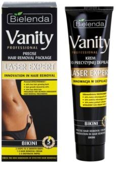 Bielenda Vanity Laser Expert crème dépilatoire pour les parties intimes