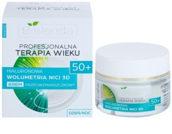 Bielenda Professional Age Therapy Hyaluronic Volumetry NICI 3D krem przeciw zmarszczkom 50+