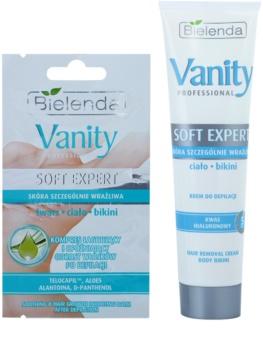 Bielenda Vanity Soft Expert crème dépilatoire corps pour un effet naturel