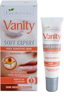 Bielenda Vanity Soft Expert creme depilatório para rosto