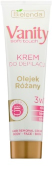 Bielenda Vanity Soft Touch Enthaarungscreme für trockene Haut