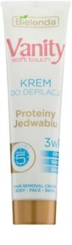 Bielenda Vanity Soft Touch crema depilatoria per pelli delicate