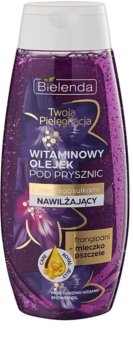 Bielenda Your Care Frangipani & Royal Jelly huile de douche hydratante et rafraîchissante aux vitamines