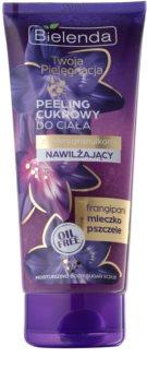 Bielenda Your Care Frangipani & Royal Jelly peeling corporal cu zahar pentru hidratare si fermitate