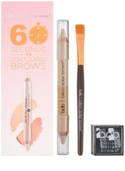 Billion Dollar Brows Color & Control kit per sopracciglia perfette