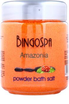 BingoSpa Amazonia koupelový pudr s extraktem z guarany