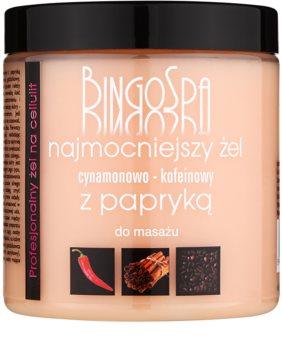 BingoSpa Caffeine & Cinnamon Chilli schlankmachendes Massagegel