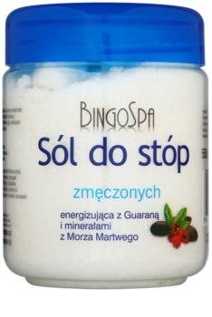 BingoSpa Guarana & Dead Sea Minerals Badesalz für erschöpfte Beine