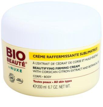 Bio Beauté by Nuxe Body krem ujędrniający do ciała z ekstraktem z korsykańskiej cytryny i olejkiem roślinnym