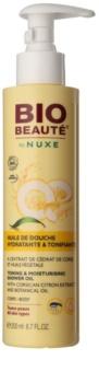 Bio Beauté by Nuxe Body λάδι για ντους για ενυδάτωση και ανανέωση της επιδερμίδας