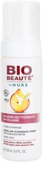 Bio Beauté by Nuxe Cleansing mousse micellare detergente con acqua d'arancia