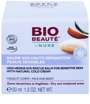 Bio Beauté by Nuxe High Nutrition bálsamo SOS regenerador para peles sensíveis com teor de cold cream