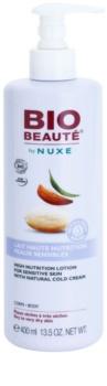 Bio Beauté by Nuxe High Nutrition latte nutriente corpo con Cold Cream