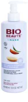 Bio Beauté by Nuxe High Nutrition leite corporal nutritivo  com teor de cold cream