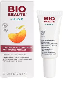 Bio Beauté by Nuxe Moisturizers poživitvena nega za predel okoli oči s celicami klementin